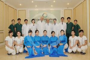 Đội ngũ Chuyên viên phun xăm thẩm mỹ tại TMV Đông Á