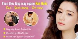 Từ A – Z những thông tin về cơn sốt lông mày ngang Hàn Quốc