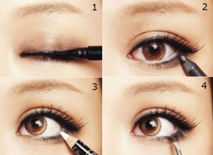 Bật mí cách kẻ mí mắt trên giúp mắt to tròn và sắc nét hơn