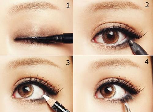 Mách bạn cách kẻ mí mắt trên giúp mắt to và đẹp hơn 2