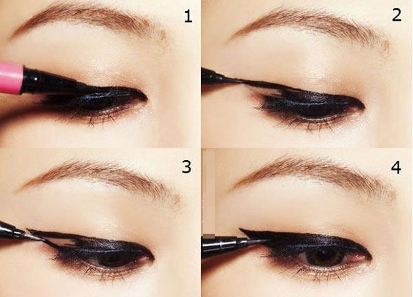 Mách bạn cách kẻ mí mắt trên giúp mắt to và đẹp hơn 1