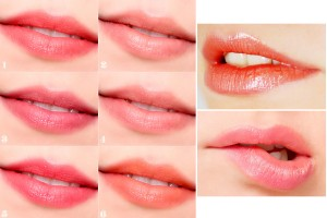 Phun môi hồng cam hay màu hồng tự nhiên đẹp?