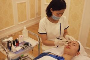Chia sẻ khách hàng Phun xăm tại TMV Đông Á